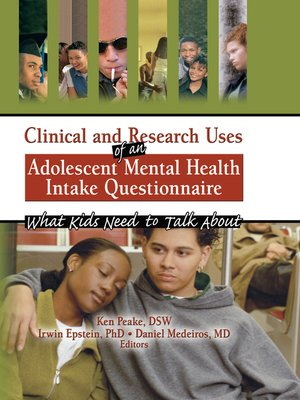 cover image of Clinical and Research Uses of an Adolescent Mental Health Intake Questionnaire