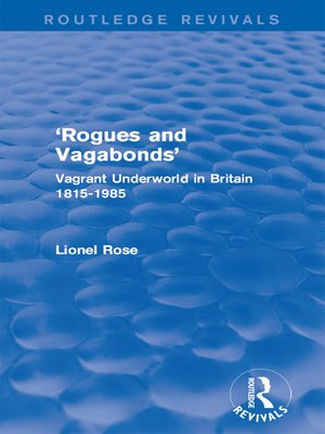 cover image of 'Rogues and Vagabonds'