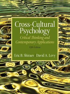 cover image of Cross-Cultural Psychology