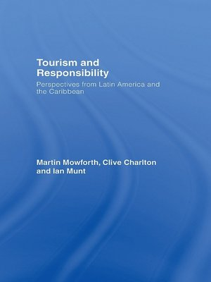 cover image of Tourism and Responsibility