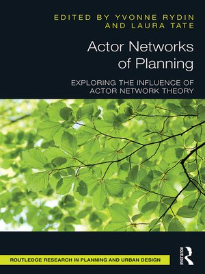 cover image of Actor Networks of Planning