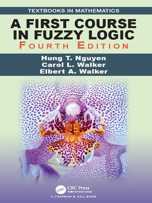cover image of A First Course in Fuzzy Logic