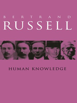 cover image of Human Knowledge