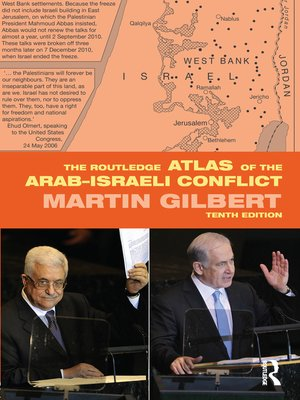 cover image of The Routledge Atlas of the Arab-Israeli Conflict