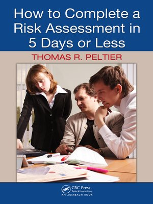 cover image of How to Complete a Risk Assessment in 5 Days or Less