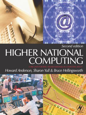 cover image of Higher National Computing