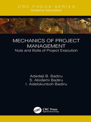 cover image of Mechanics of Project Management