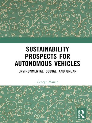 cover image of Sustainability Prospects for Autonomous Vehicles