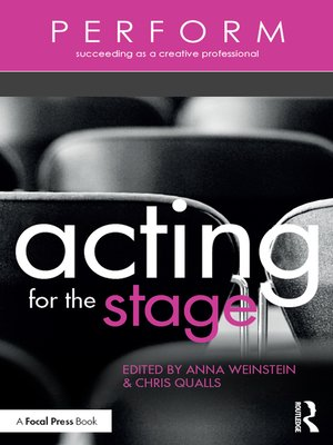 cover image of Acting for the Stage