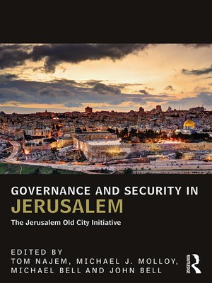 cover image of Governance and Security in Jerusalem