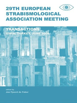 cover image of 29th European Strabismological Association Meeting