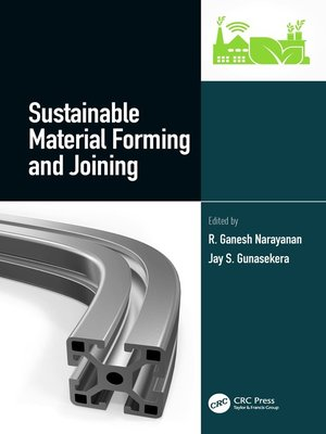 cover image of Sustainable Material Forming and Joining
