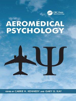 cover image of Aeromedical Psychology