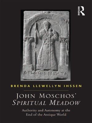 cover image of John Moschos' Spiritual Meadow