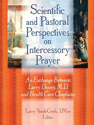cover image of Scientific and Pastoral Perspectives on Intercessory Prayer