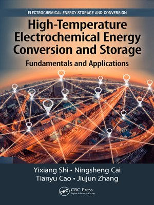 cover image of High-Temperature Electrochemical Energy Conversion and Storage