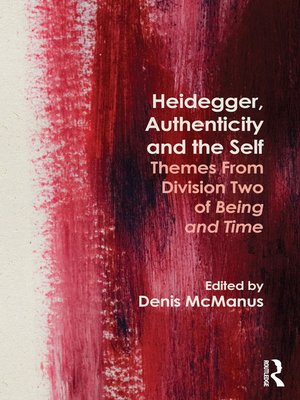 cover image of Heidegger, Authenticity and the Self