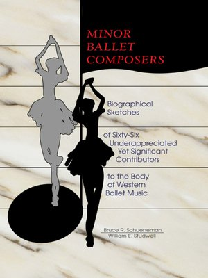 cover image of Minor Ballet Composers
