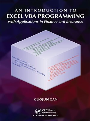 cover image of An Introduction to Excel VBA Programming