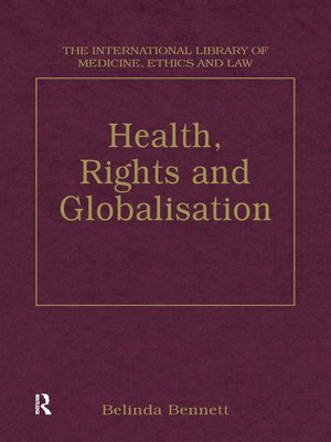 cover image of Health, Rights and Globalisation