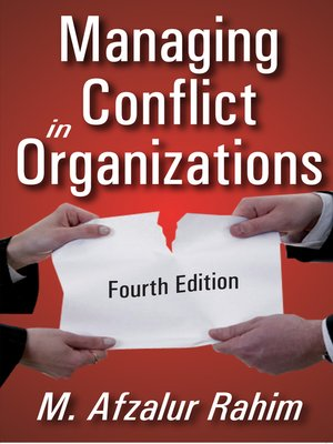 cover image of Managing Conflict in Organizations