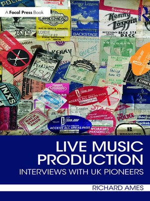 cover image of Live Music Production