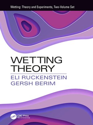 cover image of Wetting Theory