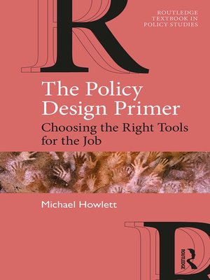 cover image of The Policy Design Primer