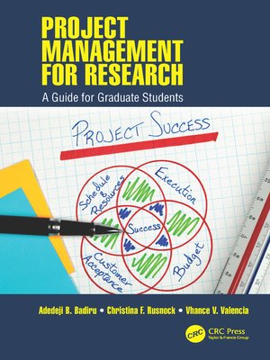 cover image of Project Management for Research