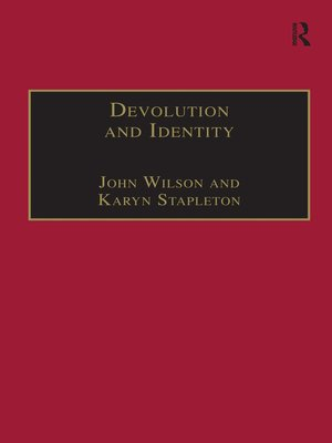 cover image of Devolution and Identity