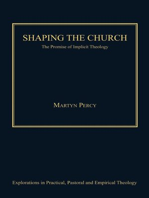 cover image of Shaping the Church