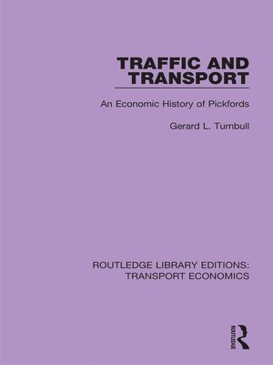 cover image of Traffic and Transport