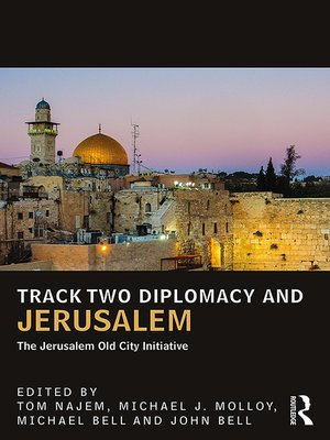 cover image of Track Two Diplomacy and Jerusalem