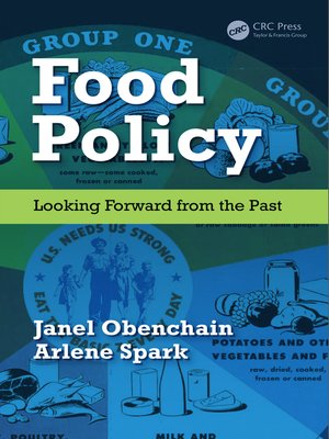 cover image of Food Policy