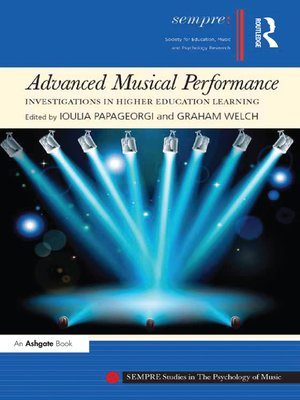 cover image of Advanced Musical Performance