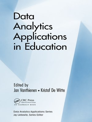 cover image of Data Analytics Applications in Education