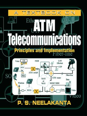 cover image of A Textbook on ATM Telecommunications