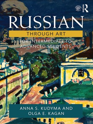 cover image of Russian Through Art