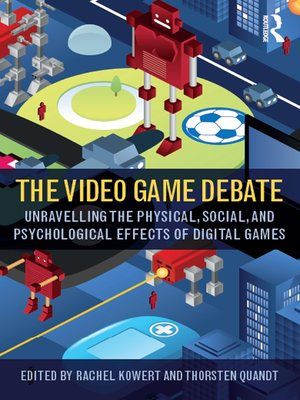 cover image of The Video Game Debate