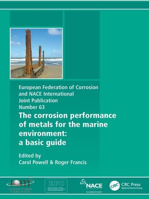 cover image of Corrosion Performance of Metals for the Marine Environment EFC 63