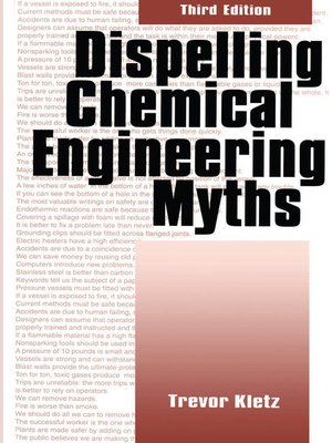 cover image of Dispelling chemical industry myths