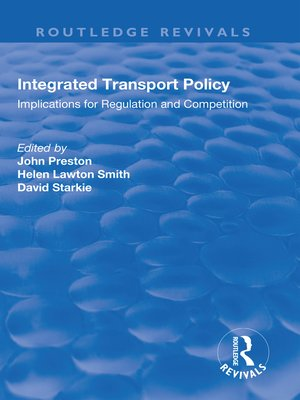 cover image of Integrated Transport Policy