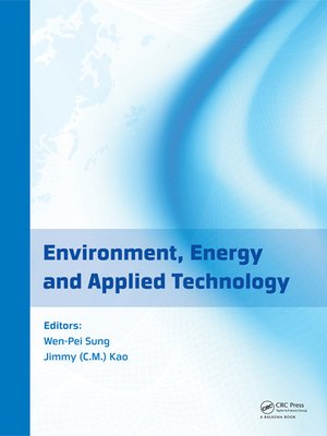 cover image of Environment, Energy and Applied Technology