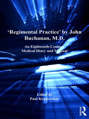 cover image of 'Regimental Practice' by John Buchanan, M.D.