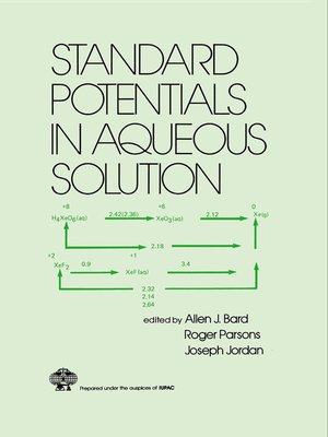 cover image of Standard Potentials in Aqueous Solution