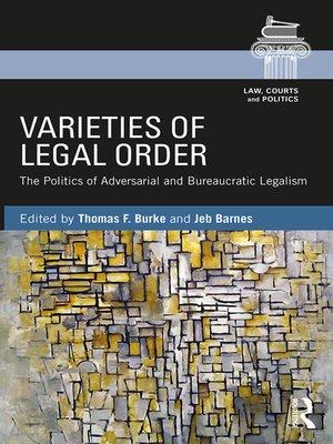 cover image of Varieties of Legal Order