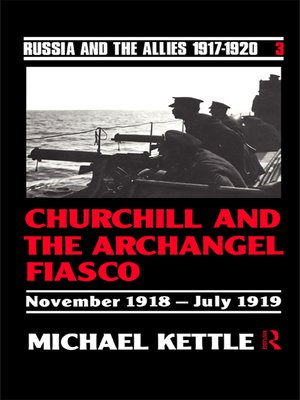 cover image of Churchill and the Archangel Fiasco