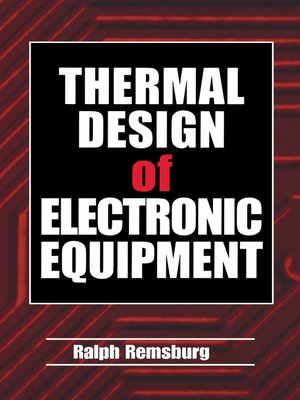 cover image of Thermal Design of Electronic Equipment
