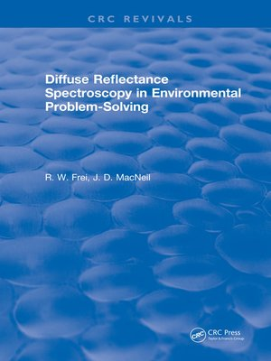 cover image of Diffuse Reflectance Spectroscopy Environmental Problem Solving