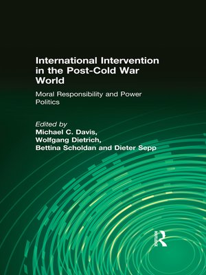 cover image of International Intervention in the Post-Cold War World
